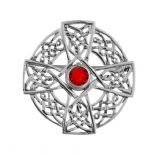 Celtic Silver Brooches